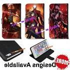 fate stay night pu leather wallet stand
