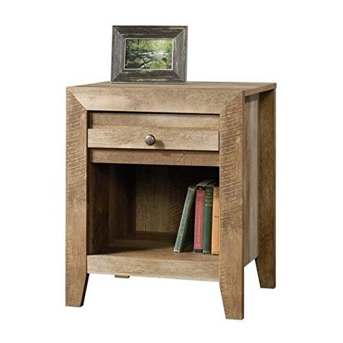 Sauder Pass Bedroom Stand Oak