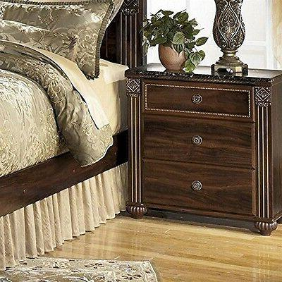 Signature Design by Ashley Gabriela Two Drawer Night Stand D