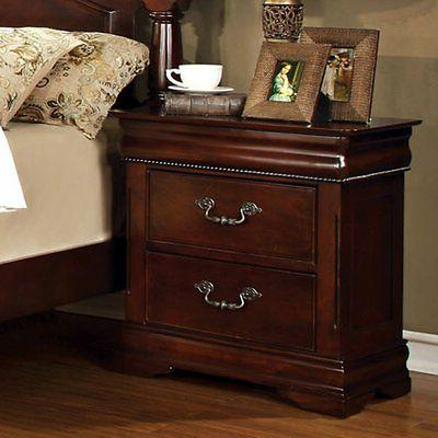 grand central 2 drawer nightstand