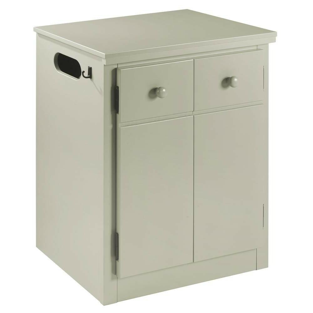 Gray CPAP Nightstand