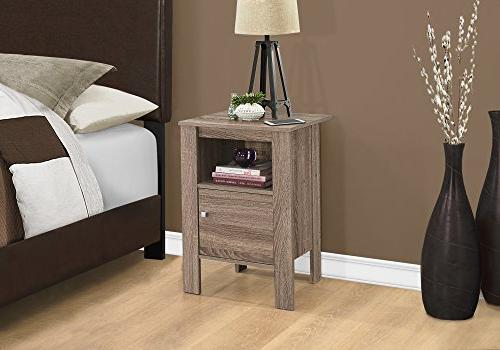 "Monarch Accent Table-Dark Stand L x 14"" x 24.25"" H"