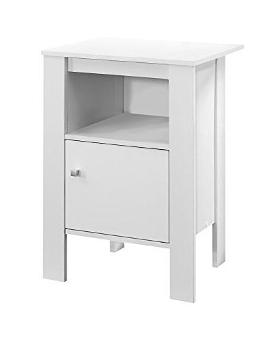 Monarch Specialties Accent Stand with White