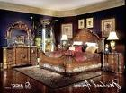 michael amini excelsior king panel bed