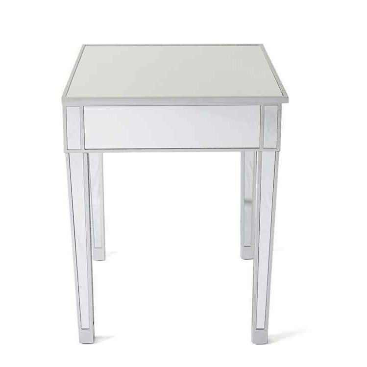 Modern Drawer Table Square