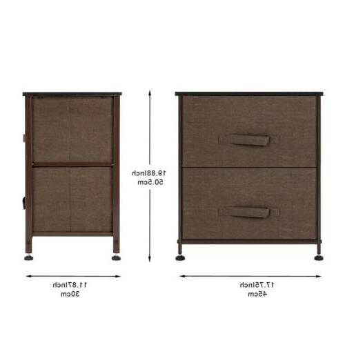 2 Night End Storage Organizer For Bedroom,Closets