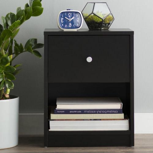 night stand nightstand black end table bedroom