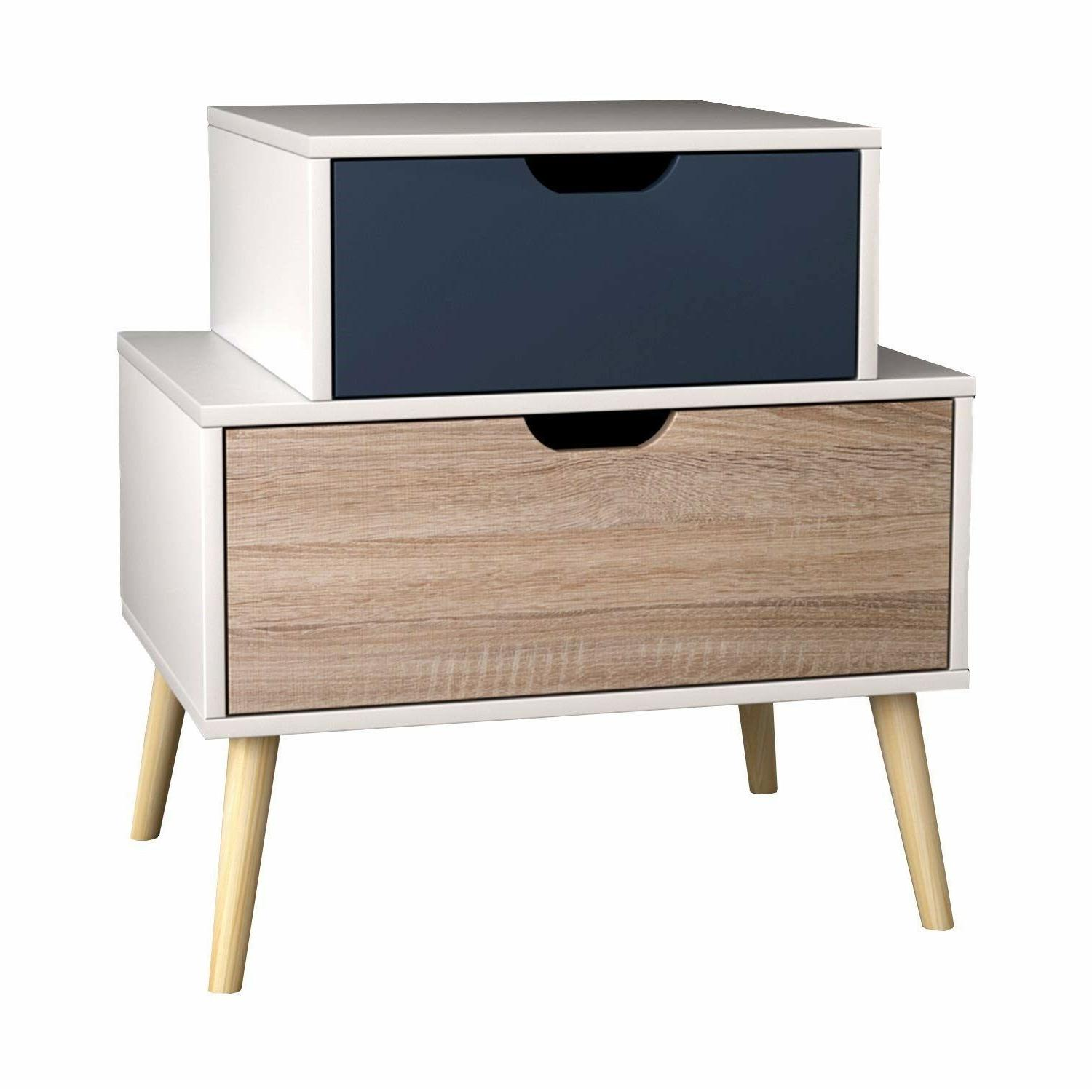 Night Stand Furniture Bedroom Accent Wood