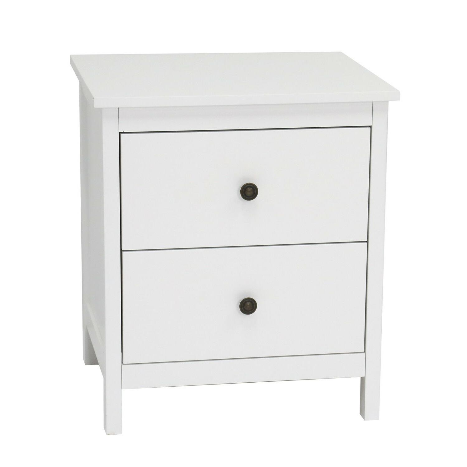 Nightstand Bedroom Storage Cabinet,w/Drawers