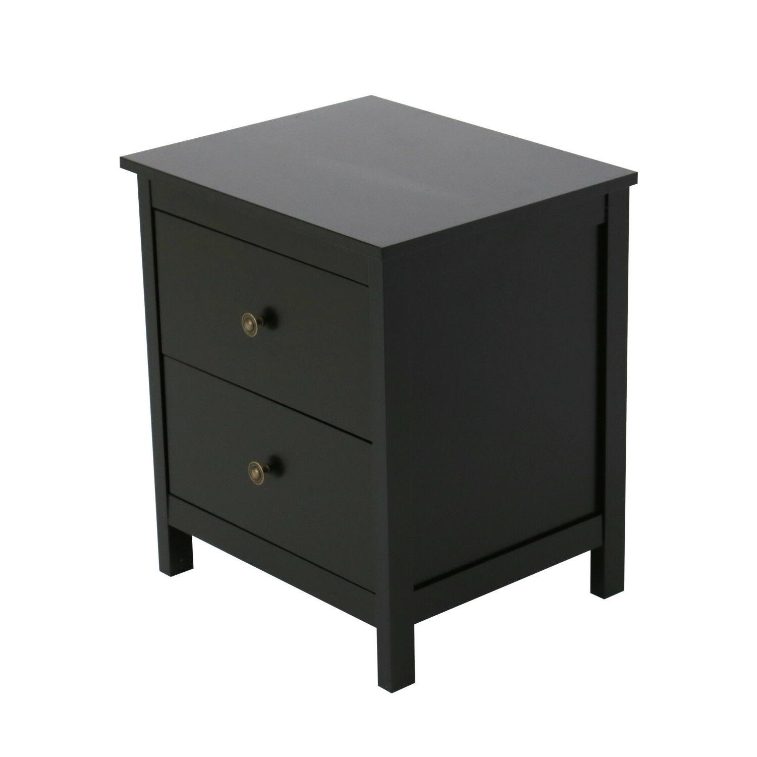 Nightstand Bedside Storage Cabinet,w/Drawers