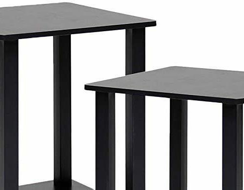 Nightstand Of 2 End Table Living