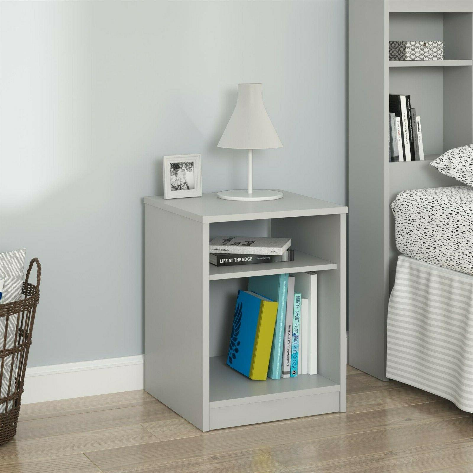 Nightstand and Cubby, 6 Bedroom Furniture