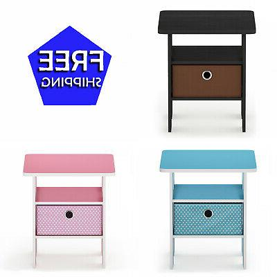 petite end table bedroom night stand multiple