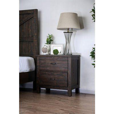 Furniture of America Transitional Nightstand