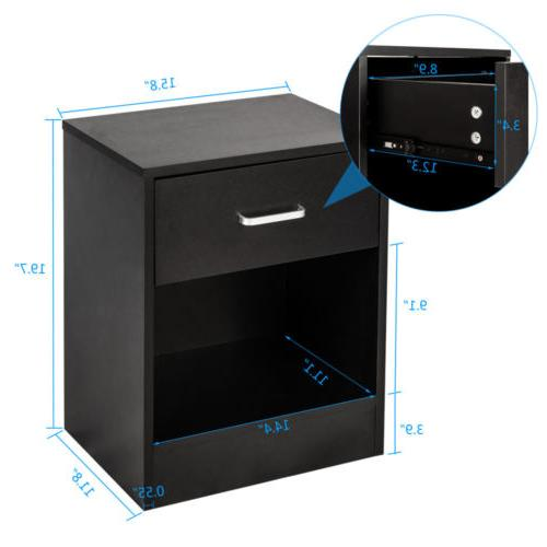 Set of with Storage End Table