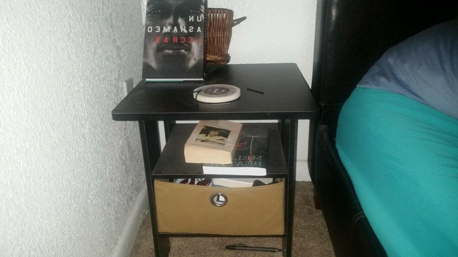 Side Table For Spaces Narrow End Tables Wood