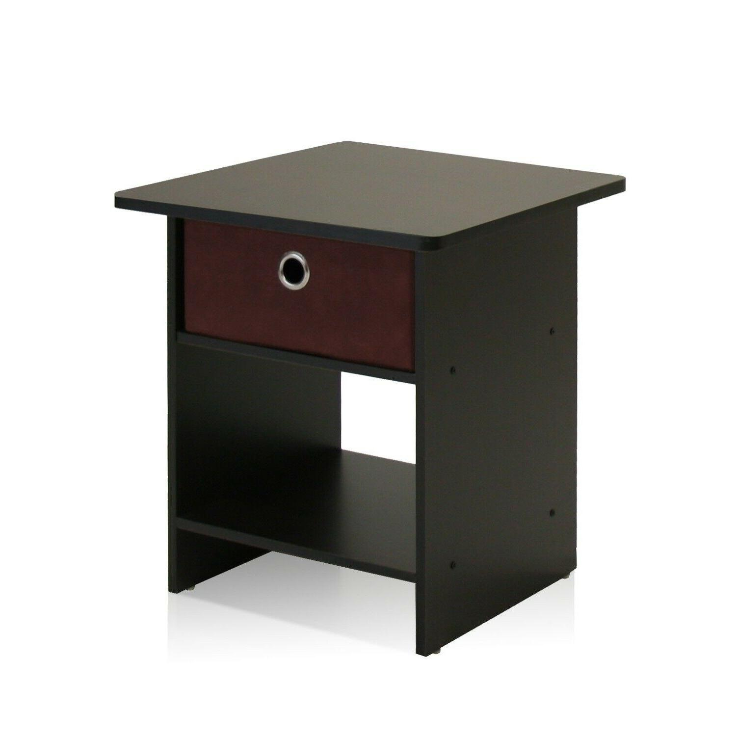 Side For Spaces End Bedside Night Stand Wood