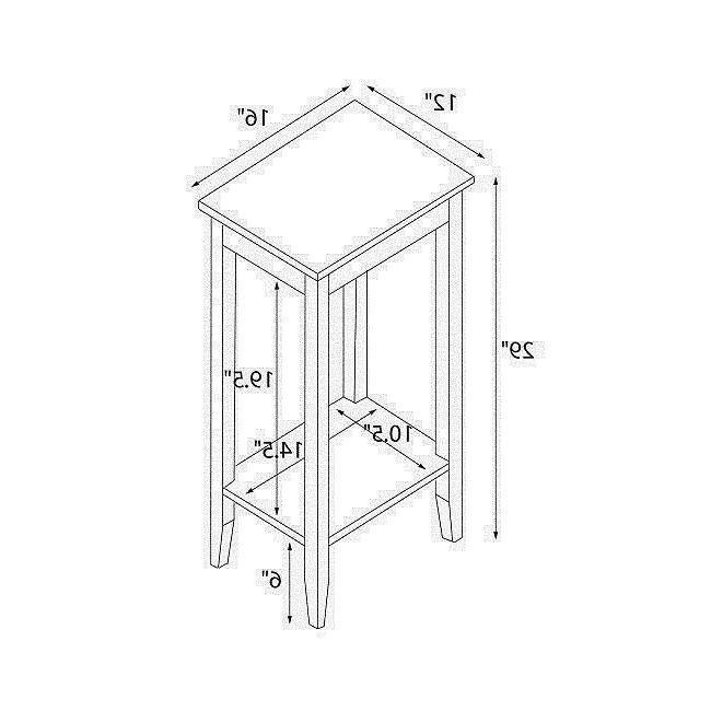 Small Nightstand End Table Accent Tables Bedroom