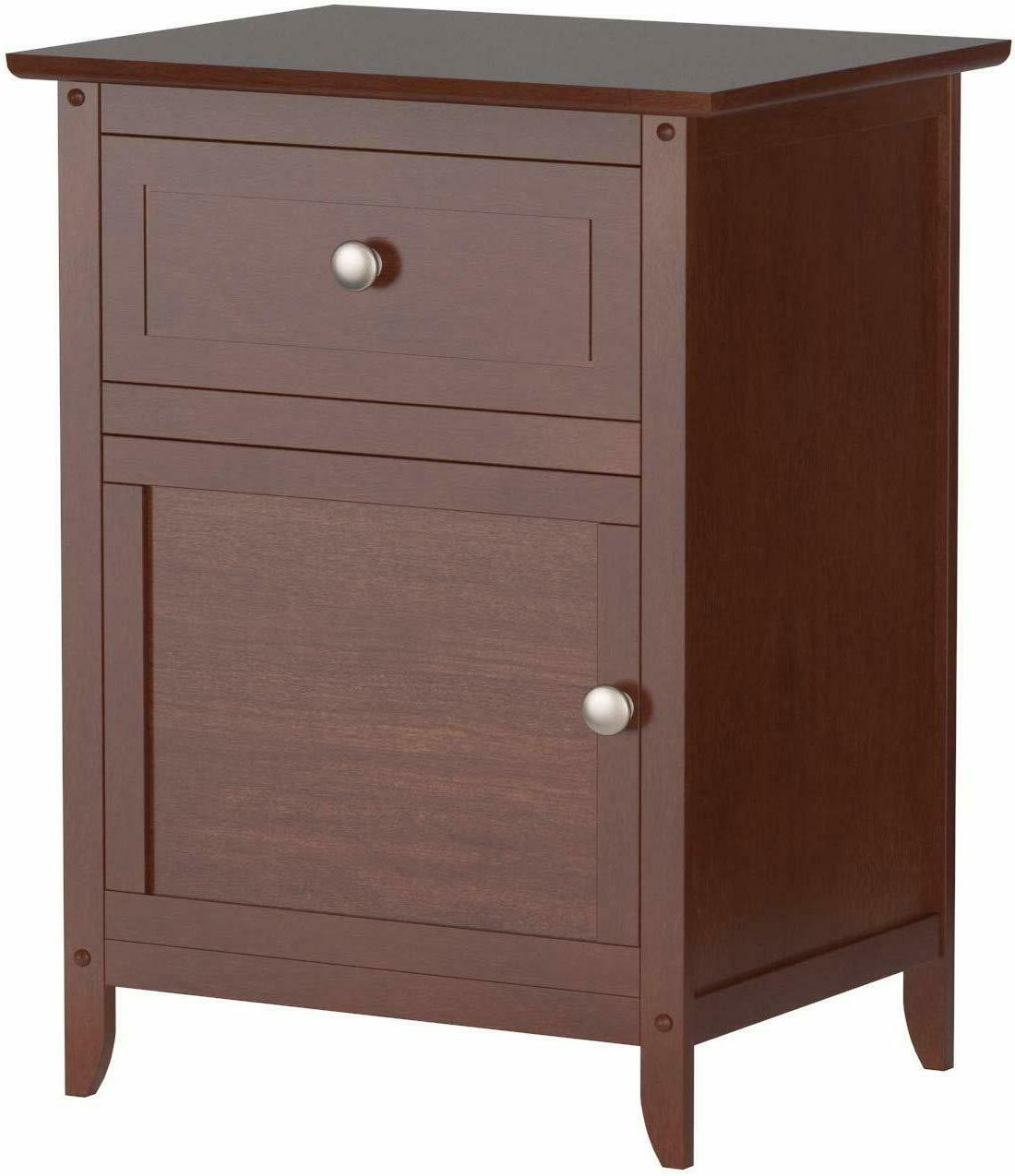 Bed Room Cabinet Stand Drawer Accent Table Finish