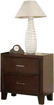 ACME Furniture Tyler Nightstand in Cappuccino