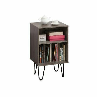 Weathered Grey Stand, Side End Table, Media ...
