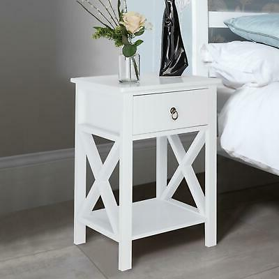 Sofa Side Table Bedroom w/Drawer
