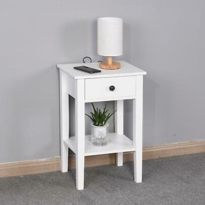 white sofa end side bedside table nightstand