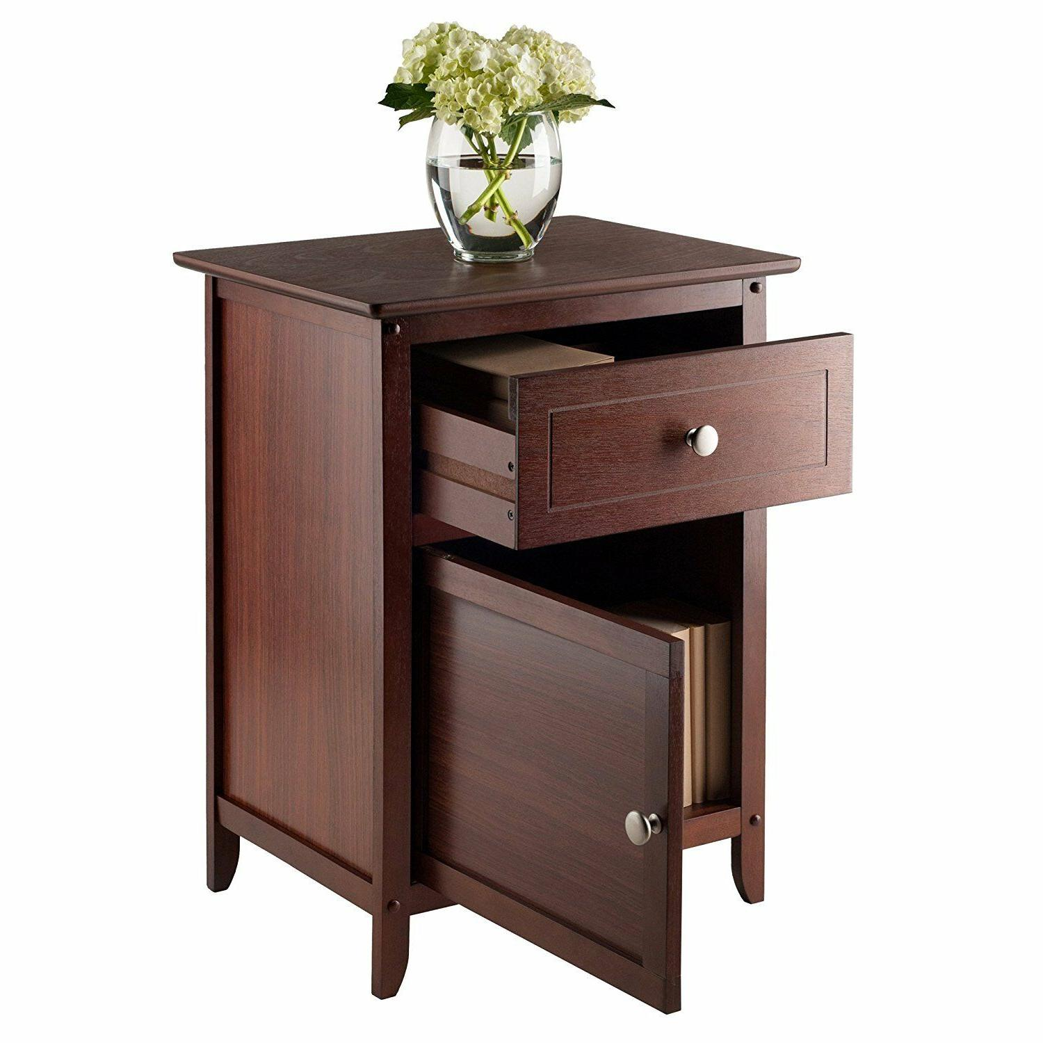 Winsome Stand/Accent Table and Cabinet