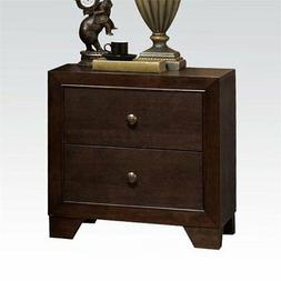 Madison Nightstand w/ 2 Drawers in Espresso by Acme Furnitur