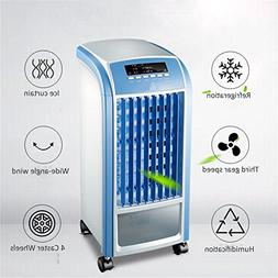 GX&XD Mini portable Air conditioner fan,Single-cold 4 caster