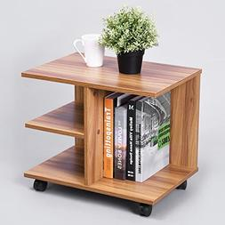 Green Forest Modern Bedside End Table Nightstand, Printer St