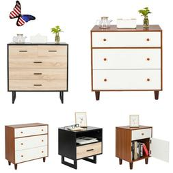 Modern Nightstand Bedside End Table Bedroom Side Stand Night
