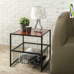 Modern Studio Collection 20 Inch Deluxe Side / End Table / C