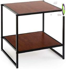 Zinus Modern Studio Collection 20 Inch Square Side / End Tab