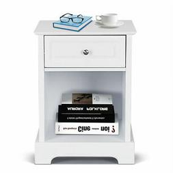 Modern Style Night Stand Home Living Room End Accent Table D
