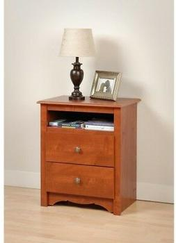 Prepac Monterey2 Drawer Nightstand - CDC-2428