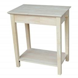 Narrow Side Table For Small Spaces End Tables Bedside Night