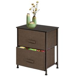 Night Stand 2 Layers Bedroom Living Room Storage Bedside Tab
