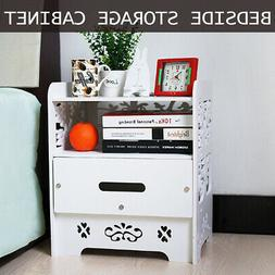 Night Stand 3 Layer Bedside End Table Organizer Bedroom Nigh