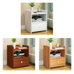 Night Stand 4 Layer W/Drawer Bedside End Table Organizer Bed