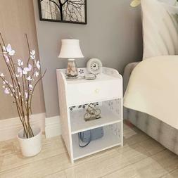 Night Stand Bedroom End Table Bedside Furniture 3 Layer Draw