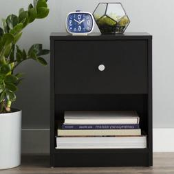 Night Stand Nightstand Black End Table Bedroom Furniture Bed