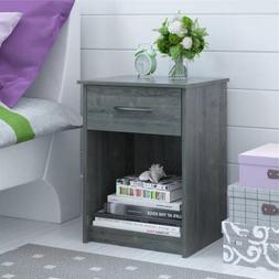 Nightstand MDF End Table Bedroom Table Furniture Multiple Co