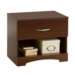 South Shore Step One 1 Drawer Wood Nightstand Sumptuous Cher