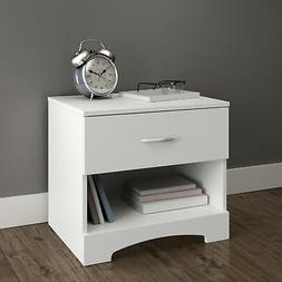 Step One Nightstand in Pure White