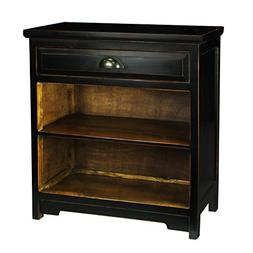 Porthos Home Small One-Drawer Nightstand, Black