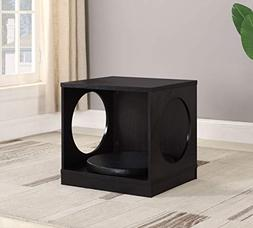 eHomeProducts Pet Dog Kennel Crate Side End Table Nightstand
