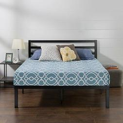 Zinus Luis Quick Lock 14 Inch Metal Platform Bed Frame with
