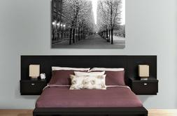 Series 9 Designer Wall Mounted Queen Headboard with 2 Night