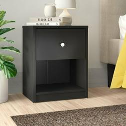 Set of 2 Drawer Nightstand Table Bedside Bedroom Furniture B